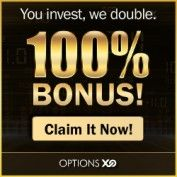 200% Cash Deposit Bonus with OptionsXO – Binary Options Broker!