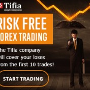 Receive 10 Risk Free Forex Trades from Tifia Forex Broker