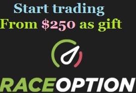 RaceOption Broker - Binary Options US Customers Welcome! 100